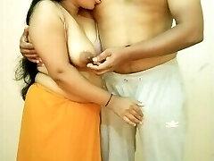 Big Breasts Indian Girl Fellating Boyfriends Nipple, Giving Hand Job, Boob Fuck
