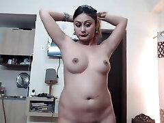 Desi Indian Girl Show Mounds On Webcam