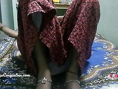 desi telugu indian village couple wifey naked fucked on floor