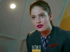 Indian desi Air  Hostess girl fuck-fest whth passenger