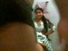 Warm Indian housewife banged by neighbor www.peehu.in