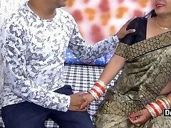 Desi Pari Step Sis And Step-brother Romping On Rakhi With Hindi Audio