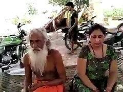 Baba with indian bhabhi