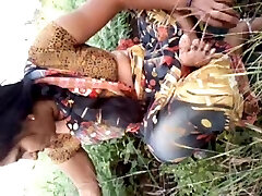 Southindian Beautyful Aunty's Melons , Pussy in Garden