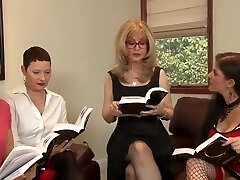 Great Lesbian Orgy By Nasty Matures