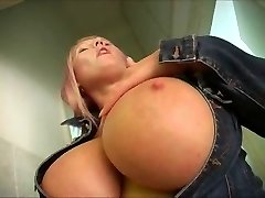 Hot Immense-Breasted Mature BBW Works It Solo