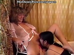 Pedicure and sapphic pussy lick