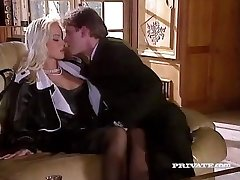 Silvia Saint Penetrates the Lawyer and Wanks His Cum