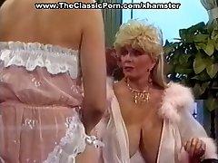 Wonderful retro babe horny seduction