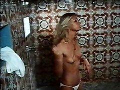 1970s vid Rock Hard Erection shower sex scene