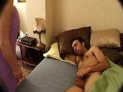 French Mom wakes up NOT her son-in-law with Sucky-sucky