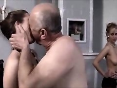 A very lucky old man fucking a sexy nubile - observe part2