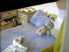 Hidden Cam Guest Bedroom Orgasm Classic