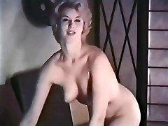 PERHAPS - antique blonde striptease stockings gloves