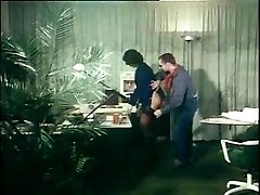 german vintage anal tweak - secretary gets ass-fucked