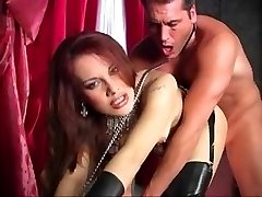 The Dominatrix and a man