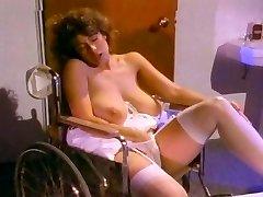 Retro Old School - White Lacy Panty Masturbation
