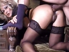 Cute mature buttfuck retro
