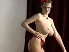 Echo beach bouncing big boobs unclothe dance taunt