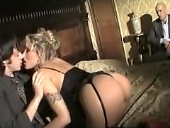 Exotic homemade Stockings, MILFs adult video