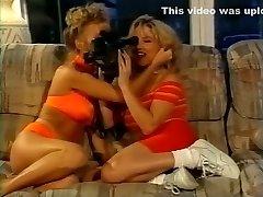 Horny pornstars Francesca Le and Crystal Nastier in exotic hard-core, threesomes sex movie