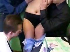 Crazy Japanese girl in Horny Russian, Gimp JAV vid