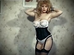 The skin trade - vintage 80 ample tits towheaded strip dance