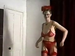 Echo beach bouncing huge boobs strip dance taunt