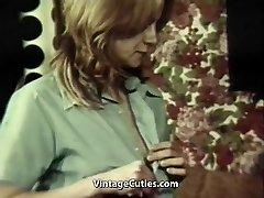 インガーカップルにお楽しみグループ性Orgasms(1970年代のヴィンテージ)