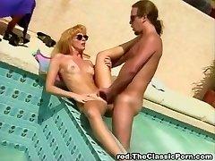 Classic poolside boning