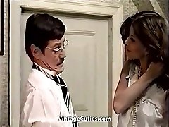 Cute Latina Maid and Her Filthy Boss (1970s Antique)