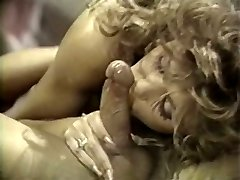 Appetizing curly haired babe loves facesitting and deepthroating big man sausage