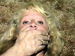 Cute Blondie Slave Duct Taped Classic