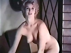 PERHAPS - vintage blonde striptease stockings mittens