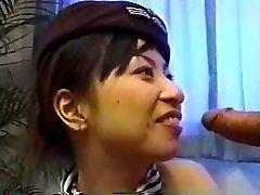 Asian Stewardess Creampie