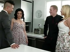 Husband Commands His Shy Wifey To Fuck A Total Stranger