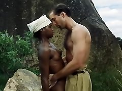 Ebony Girl And White Soldier