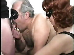 older couple with bisex young male, mmmm, vintage