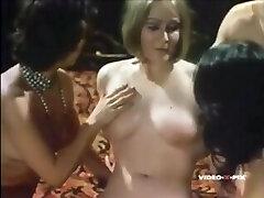 Lesbian Couple Seducing a Hetero Couple 1973