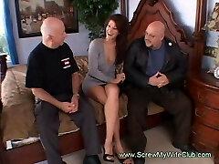 Horny Housewife Gets Fucked By Utter Strange Men Swinging