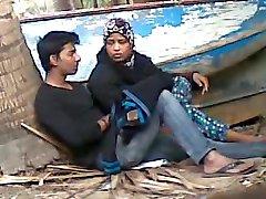 Bangladesh Tantine avec de étudiants Amoureux