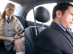 Αμερικανίδα Μαθήτρια απατεώνες το Φίλο της με ένα ρωσικά