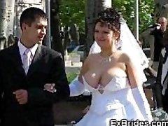 Réel Brides Montrer Leurs Chattes!
