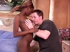 Black African Babe Gets Fucked By American Stud