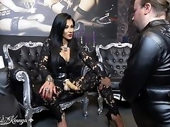 Mistress Kennya: Mouth fucking the cherry