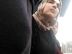 Hijab Milf Staring Dt Dick Bulge