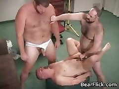 Gay hairy bear jizz and humping hardcore part5