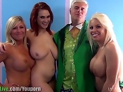 St.Patrick's adult movie star orgy party! Vol.1