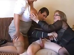 2 BBW Seduce Young Man