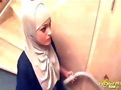 Arabische Meid Diep In Kont Geneukt
